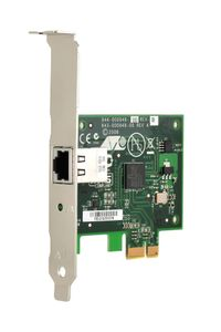 ALLIED TELESYN Secure, PCI-e (x1) Copper 10/ 100/ 1000T Adapter, includes both standard and low profile brackets; sin (AT-2912T-001)