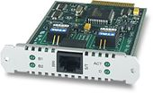 ALLIED TELESYN AT-AR021S-00 BASIC RATE ISDN S PORT INTERFACE CARD PIC 1 BRI INT