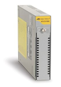 ALLIED TELESYN AT-CV1000-20 1 SLOT CONVERTEON CHASSIS INCLUDING 1 EXTERNAL AC ACCS (990-001155-20)