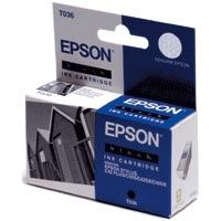 INK CARTRIDGE BLACK F/ EPSON STYLUS C42UX NS