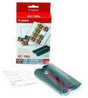 CANON KC-18IL INK LABEL KIT F/ CP-100/ 200/ 300 NS (7740A001)