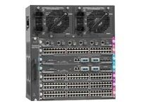 Catalyst 4500 Chassis (7-Slot), fan,  no p/s, Red Sup Capable