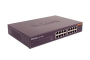 D-LINK 16xRJ45 10/100 unmanaged 16port Switch 2MB 100MBit able to build in