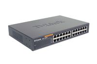 D-LINK UNMANAGED LAYER 2 SWITCH 24 PORT 10/100 INT PSU IN (DES-1024D)