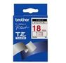 BROTHER PTOUCH TAPE RED/WHT 3/4IN FOR ALL EXCEPT PT200