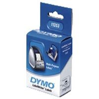 DYMO LW Multipurpose labels 25x13 double remov. white (1000) (S0722530*6)