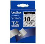 BROTHER Tape BROTHER TZ141 18mmx8m sort på klar (TZ141)