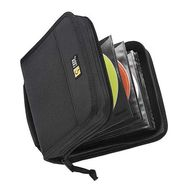 CD WALLET NYLON BLACK HOLDS UP TO 32 CD S
