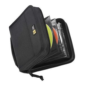 CASE LOGIC CD WALLET NYLON BLACK