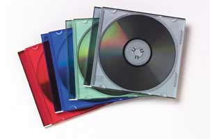 Slimcase CD Jewelcase 25 Pack