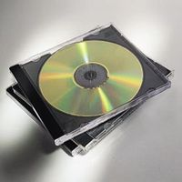 CD Jewel Case Black 10-Pack