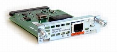 CISCO 1-PORT ISDN WAN INTERFACE CARD DIAL AND LEASED LINE UK (WIC-1B-S/T-V3=)
