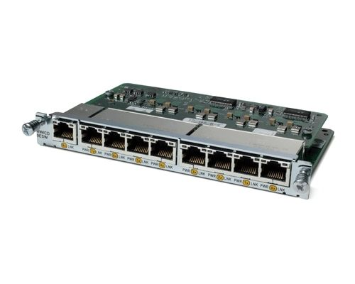 CISCO Nine port 10/100 Ethernet switch interface card | COMM2IG A/S