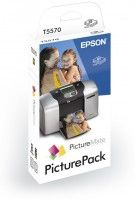 PICTUREPACK 100CT PHOTOPAPER + INK F/ PICTUREMATE 5PK IN DISPL NS