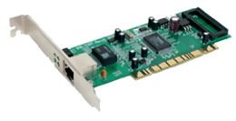 D-LINK 32BIT PCI BUS COPPER RJ45 GIGABIT ETHERNET ADAPTER IN