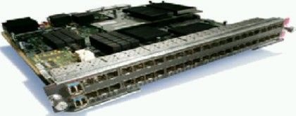 Catalyst 6500 48-port CEF720 GigE Module (Req. SFPs)