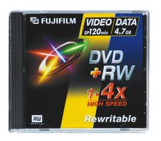FUJI DVD+RW 4,7GB 4X JEWEL CASE (45267)