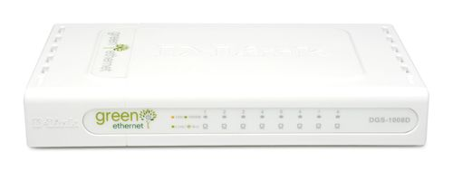 8PORT GIGABIT DESKTOP SWITCH IN
