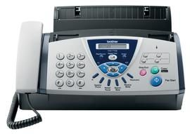 Plain Paper Fax With Answering Device 14.4kbps modem 104 Speed Dial Numbers