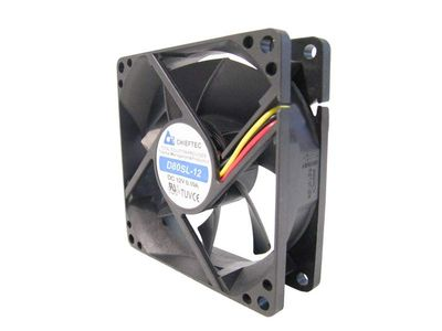 CHIEFTEC Fan/ 8cm/ Connector 3pin/4pin (AF-0825S)