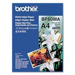 BROTHER Mat ink-jet papir (25 ark) - passer til alle Brother Blækprintere/ -fax (BP60MA)