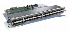 Catalyst 4500 48-Port 100BASE-X (SFPs Optional)