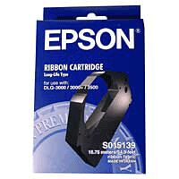 EPSON LONGLIFE BLACK FABRIC RIBBON  (C13S015139)