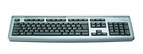 KEYBOARD ULTRA SLIM USB BLACK/ SILVER SW