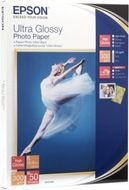 Epson 10X15CM ULTRA GLOSSY PHOTO PAPER (20 SHE (C13S041926)