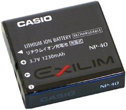 Battery NP-40 for EX-P700/ EX-P600