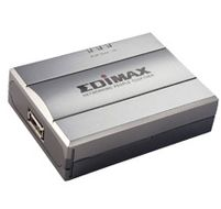 EDIMAX PS-1206MF Printserver 1 USB, Spesielt for Multifunksj. skriver (PS-1206MF)