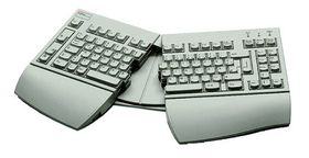 KBPC E USB USA ergonomic keyboard USB palm rest, manual fixed USB cable