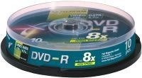 DVD-R 4.7 GB 16X CAKEBOX 10P SILVER