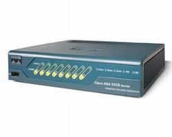 ASA 5505 Sec Plus Appliance with SW, UL Users, HA, 3DES/AES
