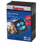 HAMA DVD-sleeves  5-Pack black                      51297