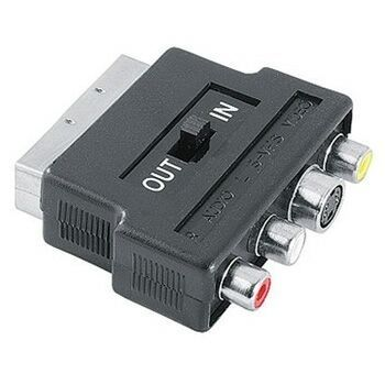 Adapter Scart/ S-Video + 3 Cinch IN/OUT 42357