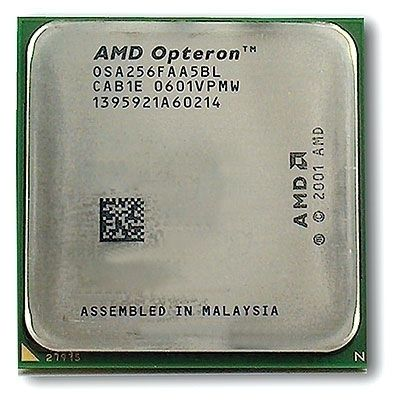 AMD Opteron 2218 HE 2,6GHz Dual Core 2 MB  DL385 G2 tilbehørssett for prosessor