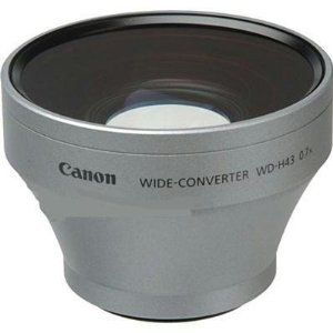 CANON WIDEANGLE CONV. WD-H43 FOR HV20 (2072B001)