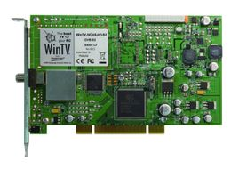 HAUPPAUGE WinTV Nova-S2 HD/PCI Satellite High Definition Dual Tuner -DVB-S2 and DVB-S card (229)