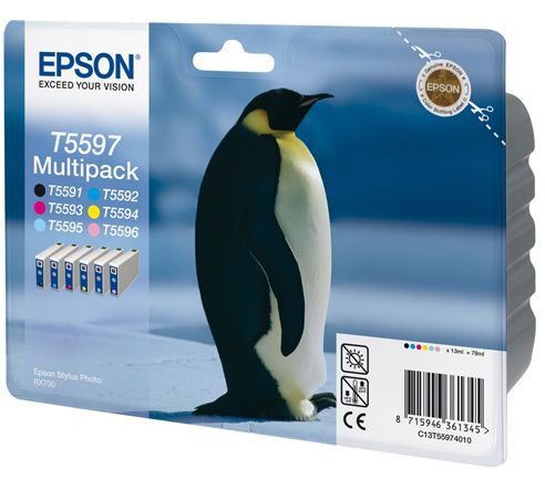 Ink Cart/ Multipack f Stylus Photo RX700