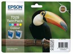 EPSON TWINPACK 2XCOLOR C13T009401 STYLUS PHOTO 900/ 1270/ 1290 NS (C13T00940210)