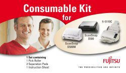 scanner consumable kit fi-5650c/ fi-5750c incl 2 x Pick Roller; 2 x Break Roller ; total max. lifetime 500.000 documents