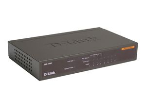 DES-1008PA 8-Port 10 100 PoE Switch Unmanaged 4 802.3af PoE ports
