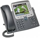 CISCO IP Phone 7975, Gig, Color, with 1 RTU License (CP-7975G-CH1 $DEL)