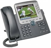 CISCO Cisco IP Phone 7975, Gig, Color, with 1 RTU License