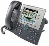 CISCO Cisco IP Phone 7945, Gig, Color, with 1 RTU License