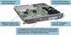 CISCO Cat 6500 Supervisor 720 with 2 ports 10GbE MSFC3 PFC3C