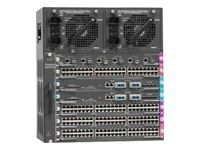 Cat4500 E-Series 7-Slot Chassis, fan, no ps, Red Sup Capable