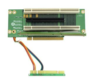 Riser Card 2U Support 1x PCI-E x16 slot & 2 xPCI-X 133 slot