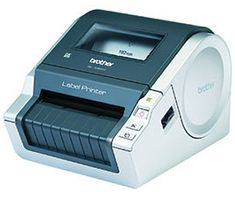 QL 1060N Network Label Printer - Automatic scissurs Black/ Silver